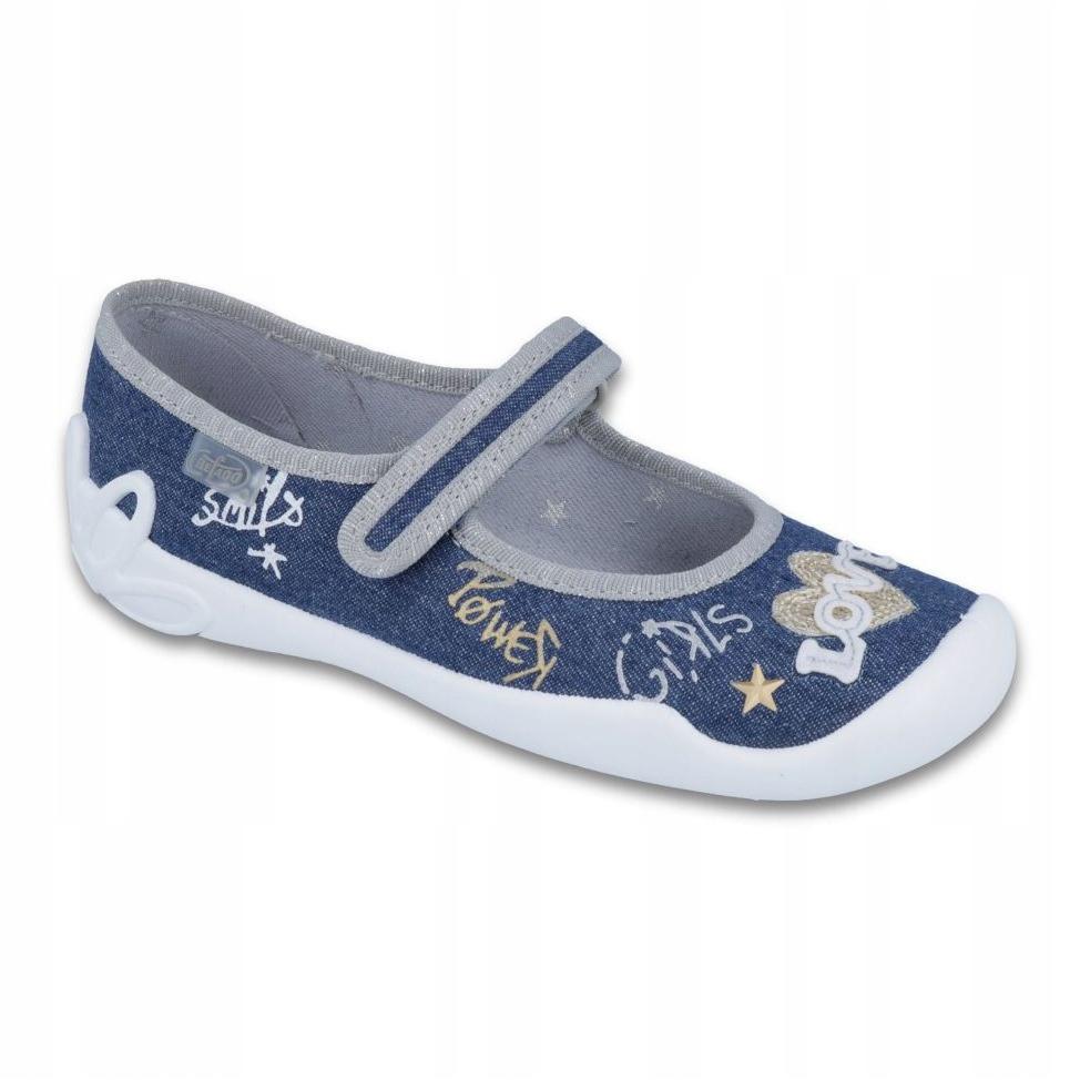 miniatura 2 - Scarpe per bambini Befado 114Y313 blu grigio