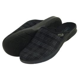 Pantofole da uomo Befado pantofole 548m011 nero 4