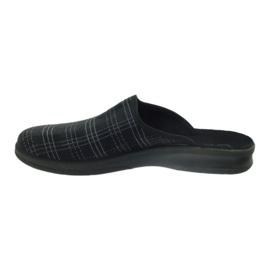 Pantofole da uomo Befado pantofole 548m011 nero 2