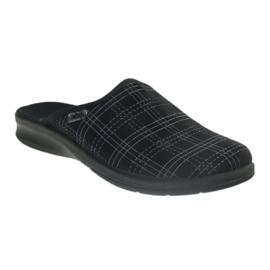 Pantofole da uomo Befado pantofole 548m011 nero 1