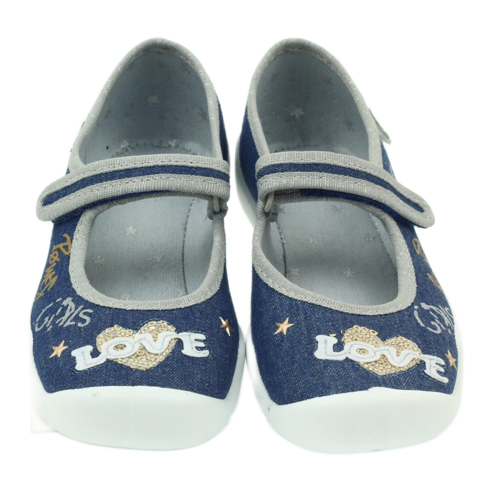 miniatura 5 - Scarpe per bambini Befado 114Y313 blu grigio