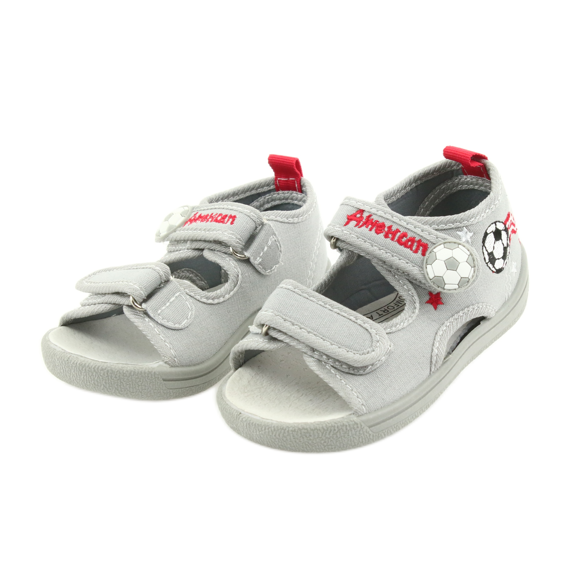 d31f2bc7eb American Club Pantofole per bambini scarpe da bambino sandali americani  35/19