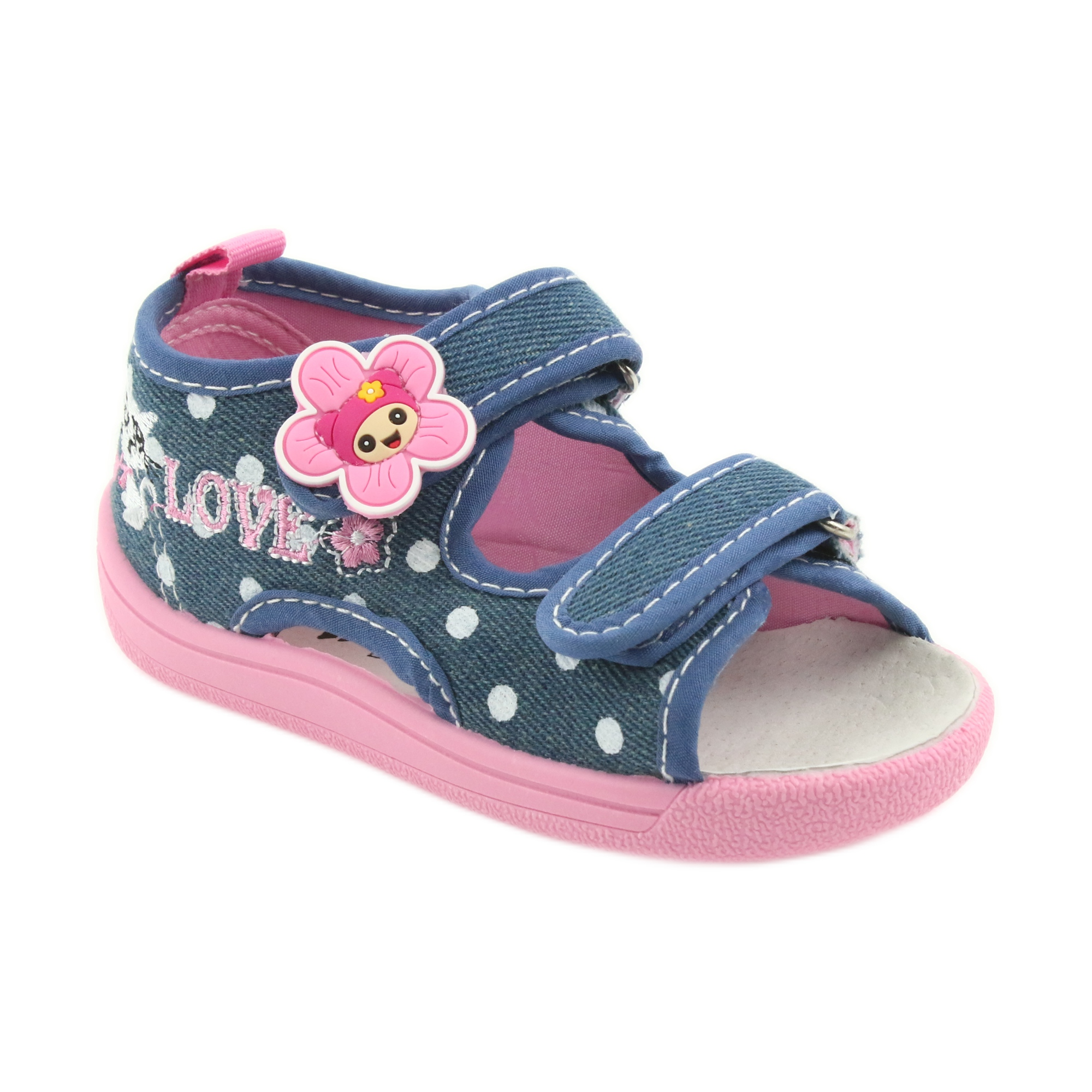 5bd0c5d199 American Club Pantofole per bambini sandali jeans American kitty 39/19