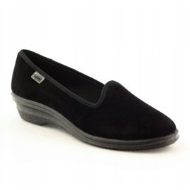 Befado scarpe da donna pvc 262D008 nero 2