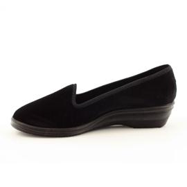 Befado scarpe da donna pvc 262D008 nero 3