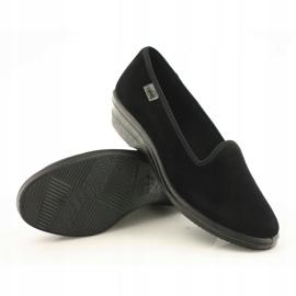 Befado scarpe da donna pvc 262D008 nero 4