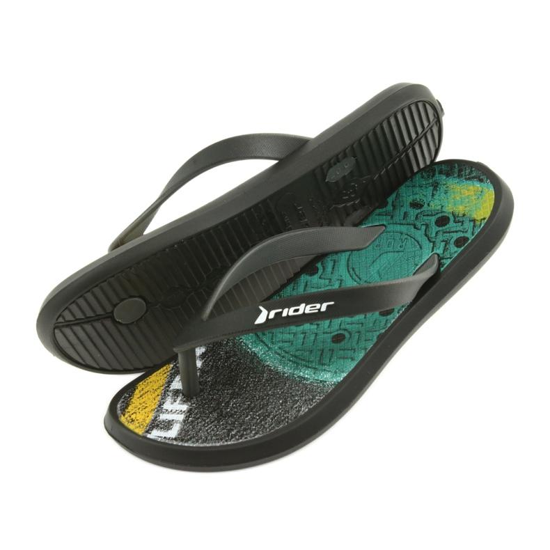Pantofole per bambini Rider 82563 nero immagine 5