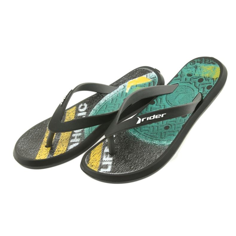 Pantofole per bambini Rider 82563 nero immagine 4