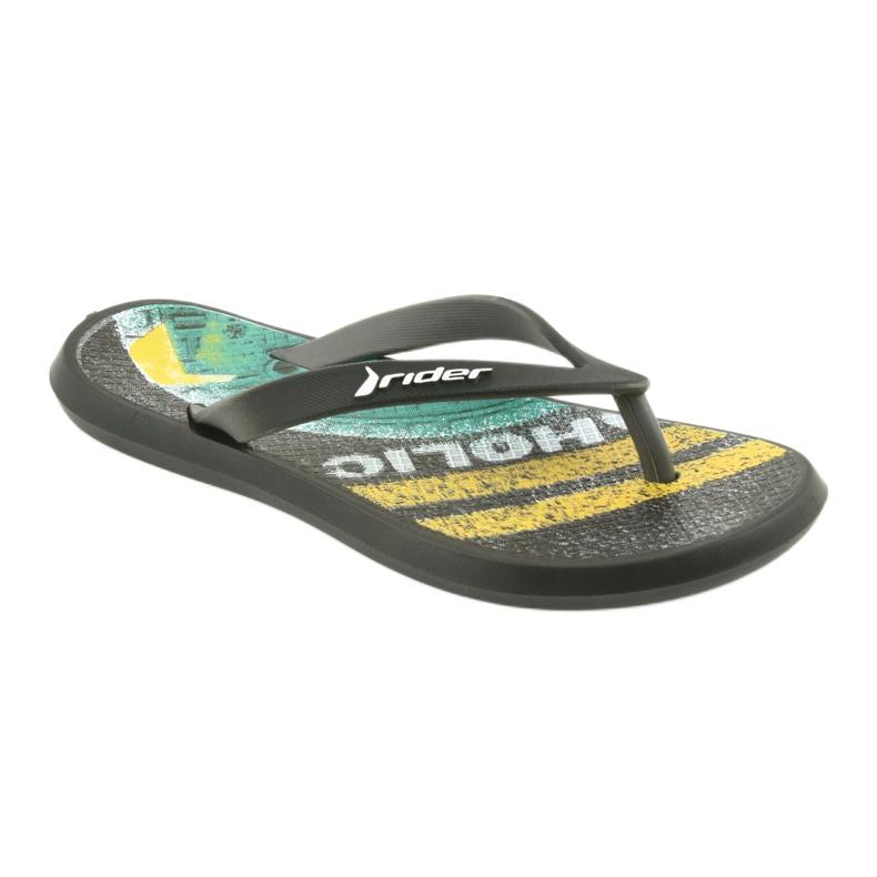 Pantofole per bambini Rider 82563 nero immagine 1