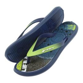 Pantofole per bambini Rider 82563 blu navy 5