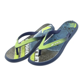 Pantofole per bambini Rider 82563 blu navy 4