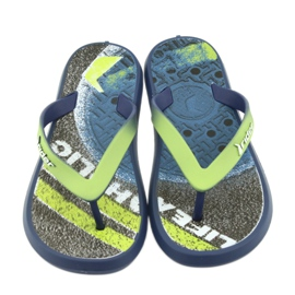 Pantofole per bambini Rider 82563 blu navy 3