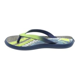 Pantofole per bambini Rider 82563 blu navy 2