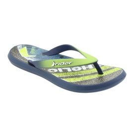Pantofole per bambini Rider 82563 blu navy 1
