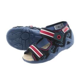 Befado giallo per bambini scarpe 350P003 marina 6