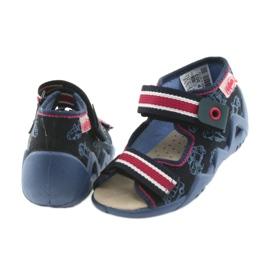 Befado giallo per bambini scarpe 350P003 marina 5