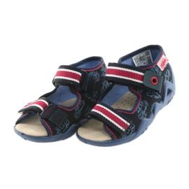 Befado giallo per bambini scarpe 350P003 marina 4
