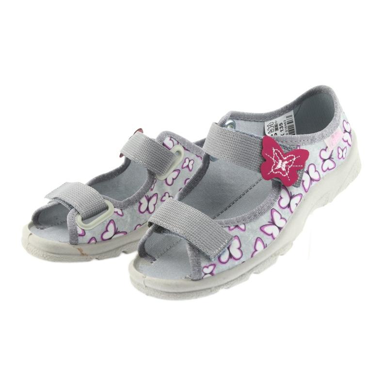 Farfalle di sandali per bambini Befado 969X135 immagine 3