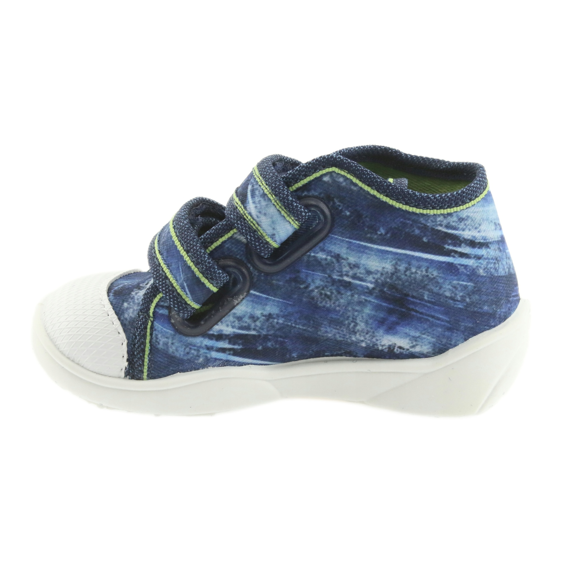 miniatura 3 - Scarpe da calcio per bambini Befado 212P058 blu verde marina