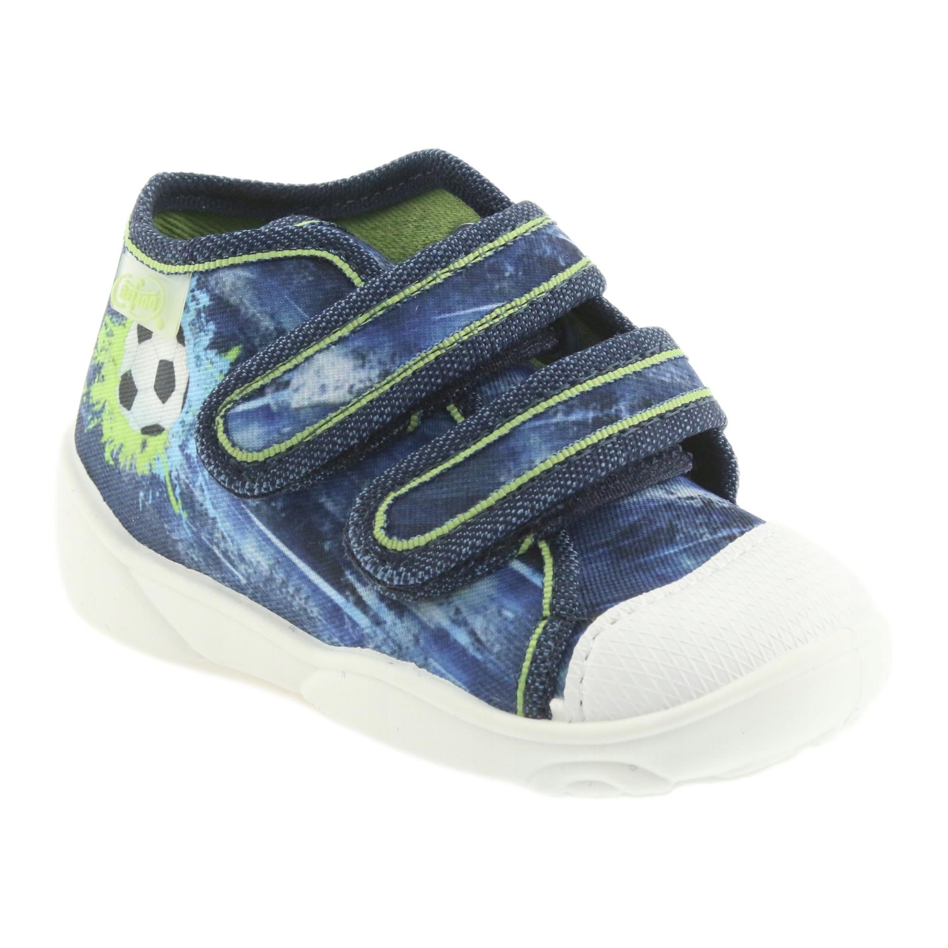 miniatura 2 - Scarpe da calcio per bambini Befado 212P058 blu verde marina