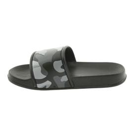 Pantofole camo profilato American Club grigio 2