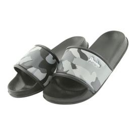 Pantofole camo profilato American Club grigio 3