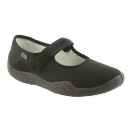 Befado scarpe da donna pu - giovane 197D002 nero 2