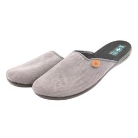 Pantofole Pantofole da uomo Adanex grigie grigio 3