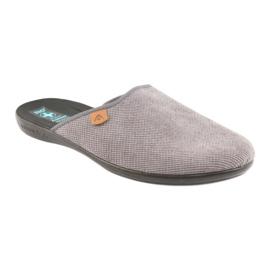 Pantofole Pantofole da uomo Adanex grigie grigio 1