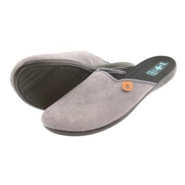 Pantofole Pantofole da uomo Adanex grigie grigio 4