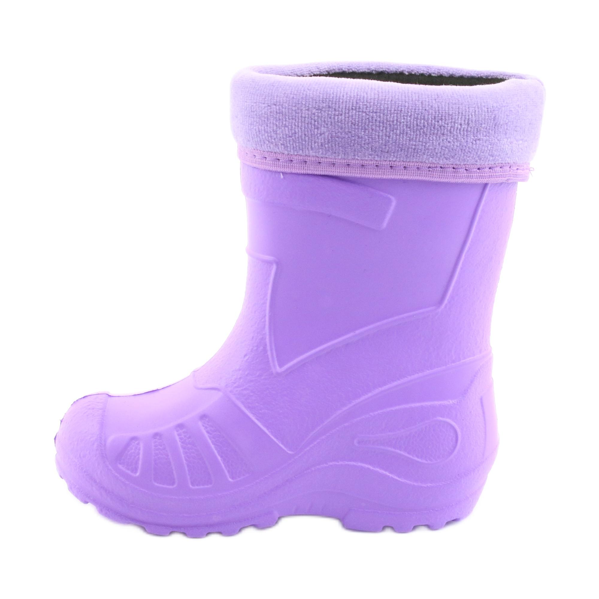 miniatura 3 - Stivali da pioggia per bambini Befado viola 162X102 porpora