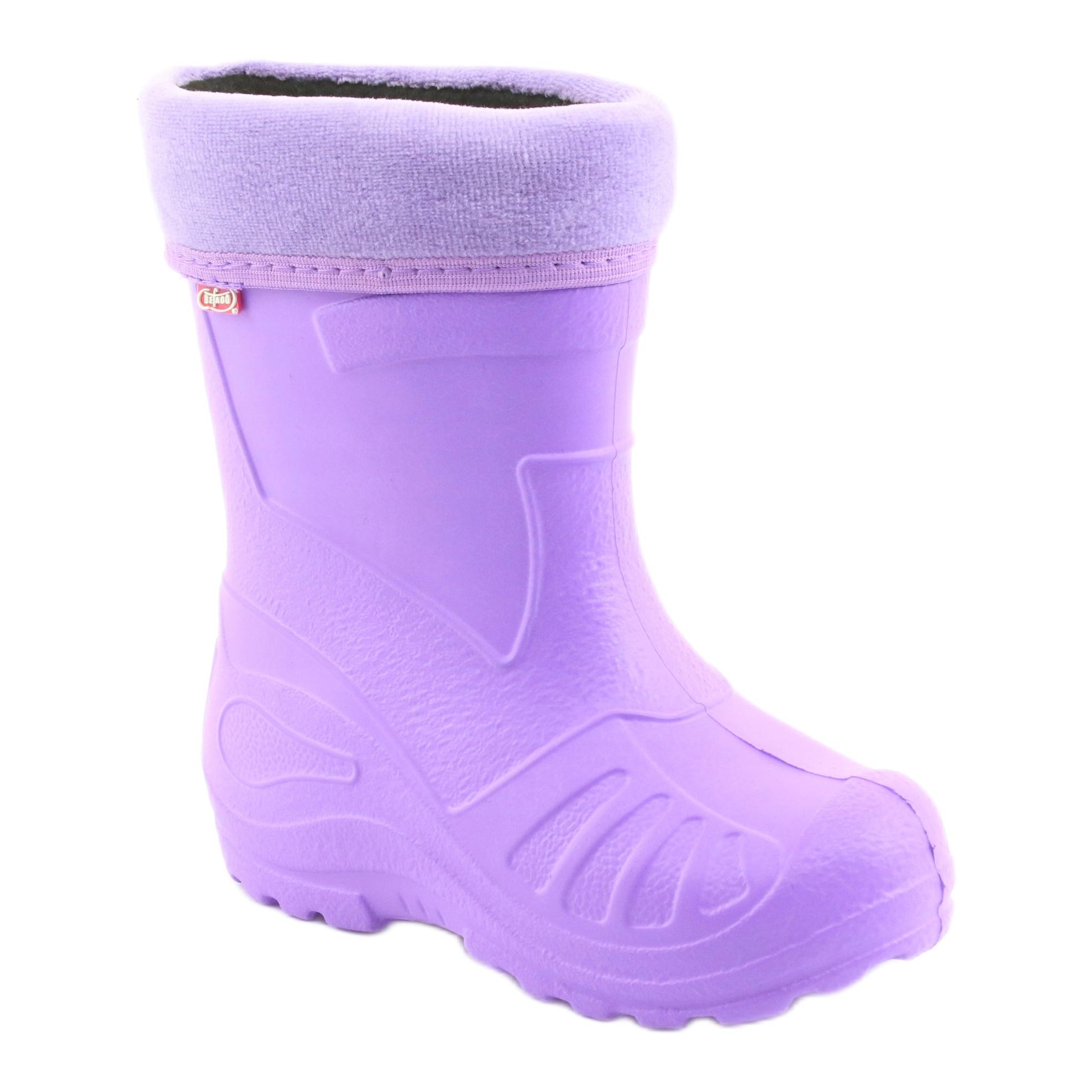 miniatura 2 - Stivali da pioggia per bambini Befado viola 162X102 porpora