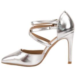 Kylie Borchie di moda lucido grigio 4