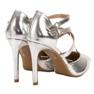 Kylie grigio Borchie di moda lucido immagine 5