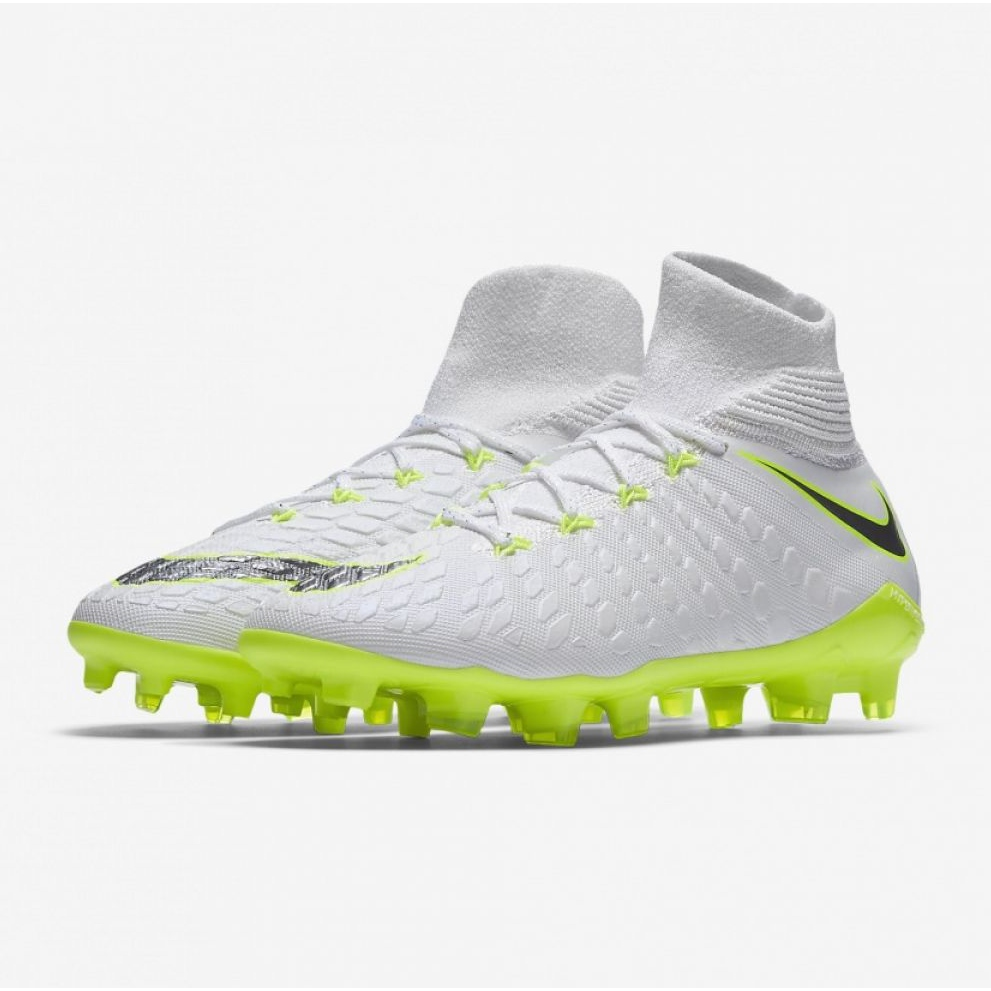 cca61b77fef26a Scarpe da calcio Nike Hypervenom Phantom 3 Elite Dynamic Fit Fg Jr  AJ3791-107 immagine