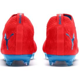 Scarpe da calcio Puma Future 19.2 Netfit Fg Ag M 105536 01 rosso nero, rosso 3