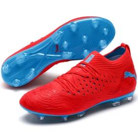 Scarpe da calcio Puma Future 19.2 Netfit Fg Ag M 105536 01 rosso nero, rosso 4