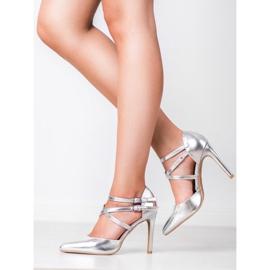 Kylie Borchie di moda lucido grigio 7