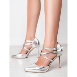 Kylie Borchie di moda lucido grigio 2