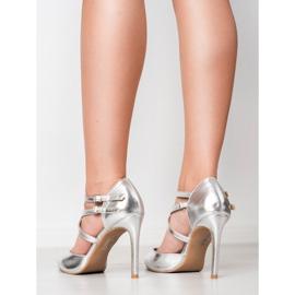 Kylie Borchie di moda lucido grigio 6