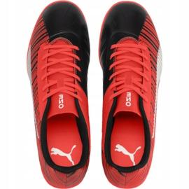 Scarpe da calcio Puma One 5.4 Jr 105654 01 rosso rosso 1
