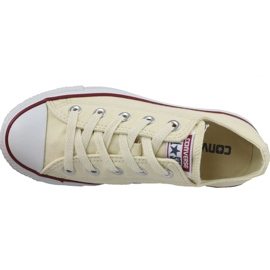 Converse C. Taylor All Star Ox Natural White In M9165 bianco 2