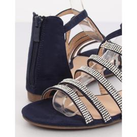 Sandali da donna blu navy LL6339 Blu marina 1