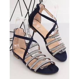 Sandali da donna blu navy LL6339 Blu marina 3