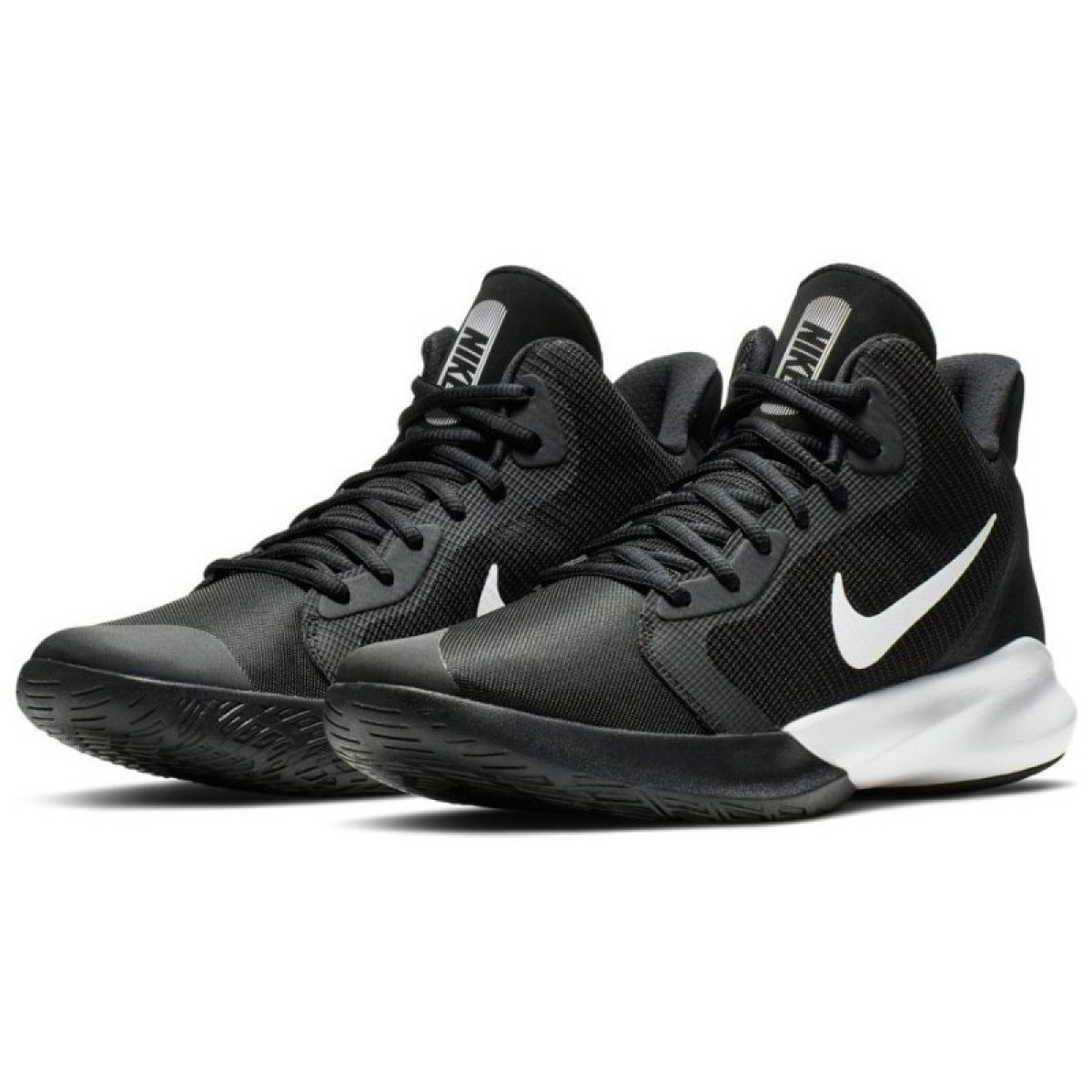 scarpe nike basket nere