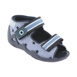 Scarpe per bambini Befado blu 250P079 1