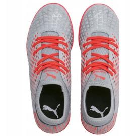Puma Futrure 4.4 It Jr 105700 01 scarpe grigie grigio grigio / argento 2