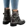 Grigio Stivali da donna grigi con fibbie HQ1588 immagine 3