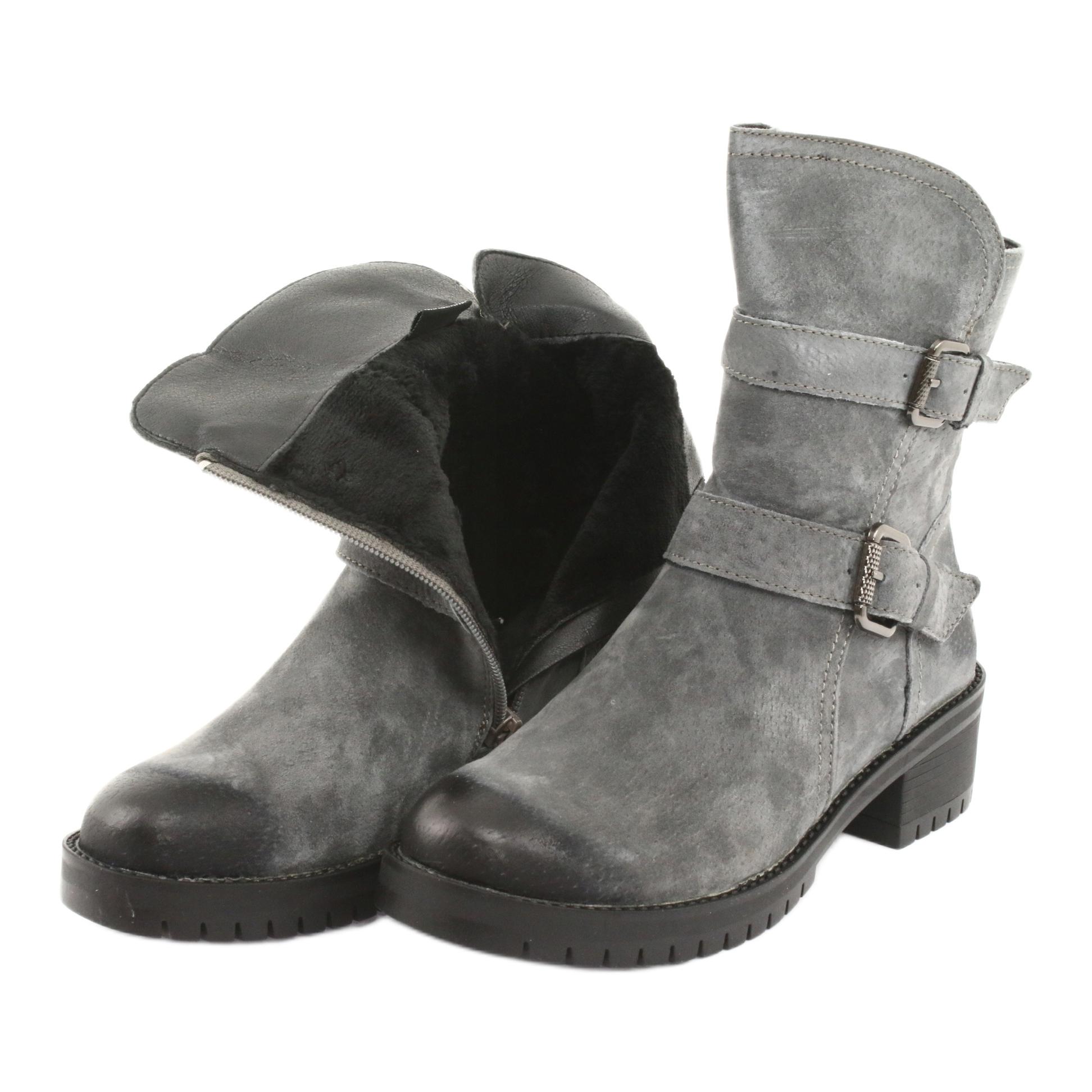 Stivali-di-pelle-scamosciata-grigia-Daszy-ski-161-grigio miniatura 6