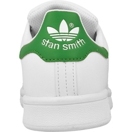 Scarpe Adidas Originals Stan Smith Jr M20605 bianco 3